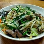 みゆき食堂 - レバ野菜炒め