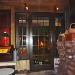 ダルブルズバー - 暖炉の火がドアに映って〜