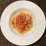 15695145 - プランツォA 1400円 の唐辛子のトマトソーススパゲッティ