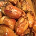 小料理 はせべ - 地御前牡蠣の燻製