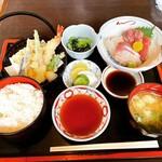 いこい - 料理写真:刺身ランチ ¥1,100-