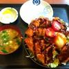 たかお食堂 - 料理写真:■ソースかつ丼(温泉卵)
