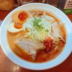156955766 - 辛口炙り肉ソバ味噌 850円