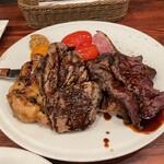 ロマーノ - お肉4種がドーン