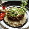 讃岐饂飩宏之輔 - 料理写真:玄米キーマカレー金沢の玄米を使いました。キーマカレーによく合います。スパイス好きの方にはガラムマサラが添えて出します。