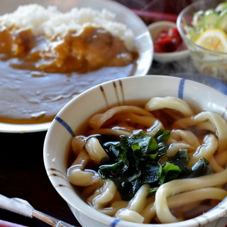 六助うどん - 料理写真:カレー定食