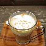 Cafe 279 - カフェラテ580円外税セット割100円w