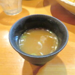 そばじん - スープ