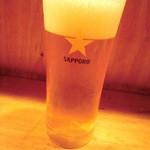 ほっこりばーる ほしぼし - 生ビール