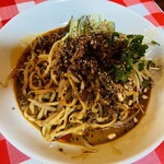 韮菜万頭 - 料理写真:冷やし黒胡麻担々麺