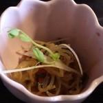 15699333 - ランチの小鉢(春雨の和え物?)
