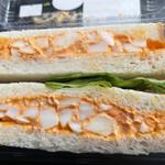 焼き焼き工房 ぱぱん - 料理写真:たま卵サンド 220円 (道の駅なかつで購入)