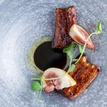 Restaurant COCON - 料理写真:鰻と無花果
