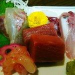 千亀利寿司 - 料理写真:刺身盛り合わせ