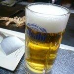 鳥美 - ビール