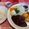 キッチン タケダ - 料理写真:盛り合わせ定食\1100