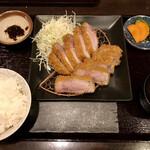 157001855 - 特選リブロースカツ定食