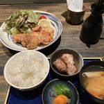 157010600 - 大山鶏の唐揚げ定食