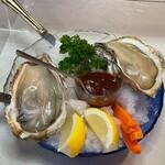 グリル プランセス - 的矢牡蠣(2個)1780円【税別価格】♪ ✿【名古屋でいただけるのはグリルプランセスさんだけ〗  くさみが全くなくミルキーでめちゃくちゃ美味しい٩(๑❛ᴗ❛๑)۶♥
