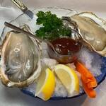 グリル プランセス - 的矢牡蠣(2個)1780円♪ 【名古屋でいただけるのはグリルプランセスさんだけ〗  大きめサイズ♪
