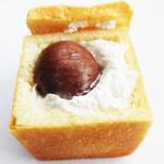 パンの店 ガッタン・ゴットン - 栗(渋皮煮)クリームパン 190円