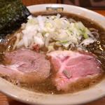 濃菜麺 井の庄 - 【11/1ゲリラ限定】燕香ラーメン(680円)