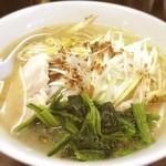 麺処 えんや - ネギ塩ラーメン(^^)