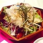 松葉鮨 - 2012/11 サラダ