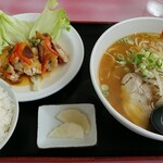 鴨島一福 - 料理写真:日替り定食