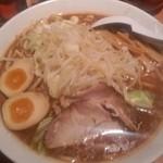 つけ麺 松ふじ - 醤油大盛太麺@¥680