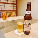 にょろ助 - ウーロン茶 550円 ノンアルコールビール アサヒドライゼロ 638円