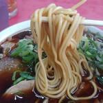 157038359 - スープを吸って麺が、、、ブラック