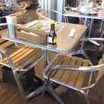 ペパカフェ・フォレスト - 店内にギッシリと並ぶテーブル席