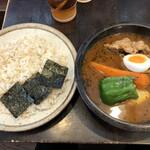 らっきょ&Star - スープカレー。