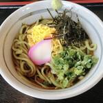 レストラン遊鶴羽 - 料理写真:青さのりうどん ¥800
