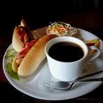 コーヒーハウス ブリッヂ - Aモーニングセット[¥730]