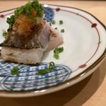 Sushi matsuura - エボダイの焼き物 秋を告げるお魚ですね、季節を感じながらエボダイ特有の風味を頂きました