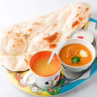 【キッズメニュー】お子様も楽しめるインド料理
