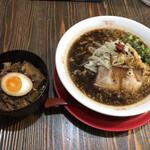 麺屋 ひしお - チャーシュー丼セット