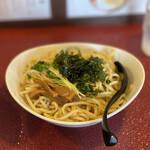 一乗寺つるかめ -  魚介醤油つけ麺(大300g) 850円 (冷盛)