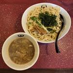 一乗寺つるかめ -  魚介醤油つけ麺(大300g) 850円