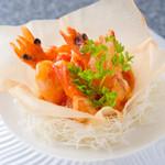 創作料理旬 - 天使の海老特製チリソース