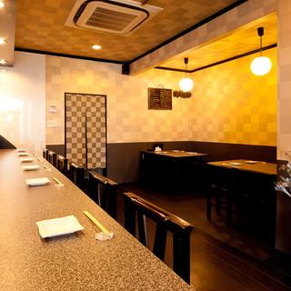 堺東すぐ!!落ち着きのある店内で、創作和食をご堪能下さい♪