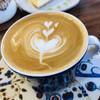 カプリ コーヒー ビーンズ - ドリンク写真:カフェラテ^ ^