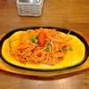 喫茶 ユキ - 料理写真:元祖鉄板イタリアンスパゲッティー·650円。