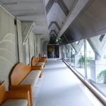 セタビカフェ - 渡り廊下からも入れます
