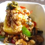 佛沙羅館 - ガパオ豆腐