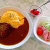 リキーズハウス - 料理写真:ハンオムレツカレー