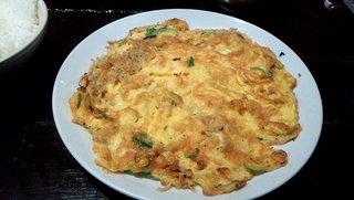 台湾料理 五味香 - シラス玉子焼き