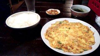台湾料理 五味香 - シラス玉子焼き定食